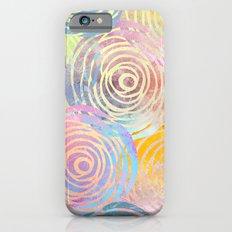 Summer Pattern Slim Case iPhone 6s
