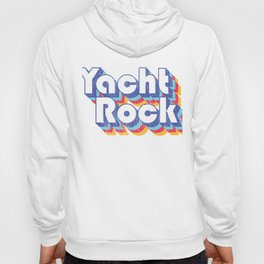 Psychedelic Fade Yacht Rock Party Boat Drinking design Hoody