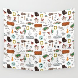 Friends TV Show Tribute Wall Tapestry