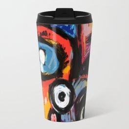 The King of Snake Street Art Graffiti Digital Travel Mug