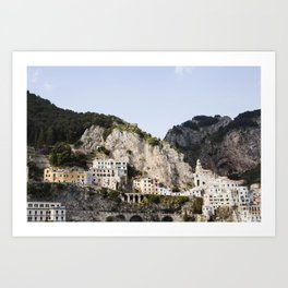 Amalfi Coast Italy Art Print