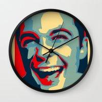 sarcasm Wall Clocks featuring Sarcasm by kelpie