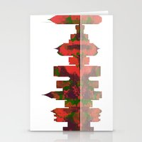 atlanta Stationery Cards featuring Atlanta Skyline by Marlene Watson