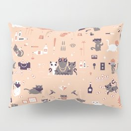 Bad cats Pillow Sham