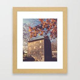Rock Mill Framed Art Print