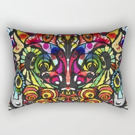 Imagine, Courage, Create Rectangular Pillow