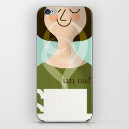 Un Caffe iPhone Skin