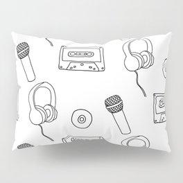 Music Pattern Pillow Sham