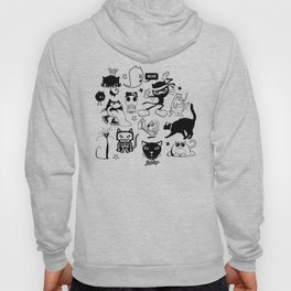 Cat Menagerie Hoody