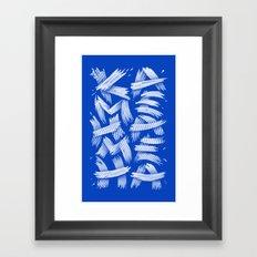 KAMEHAMEHA Framed Art Print
