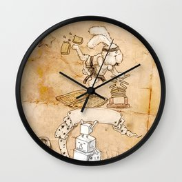 HEAD HUNTING- VII Wall Clock