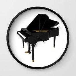Grand Piano Wall Clock