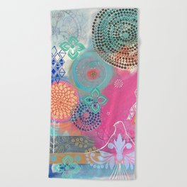Beautiful Expansion Beach Towel