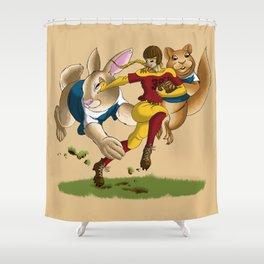 Fumblelina/Thumbelina Shower Curtain