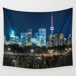 Urban Nights, Urban Lights #7 Wall Tapestry
