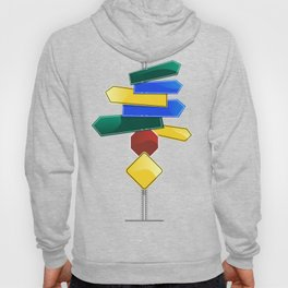Direction Sign Hoody