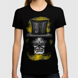 Slash style ErrorFace Skull T-shirt