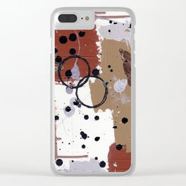 Art Cart Clear iPhone Case