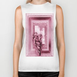 Angel of Bristol (Pink Inverted) Biker Tank