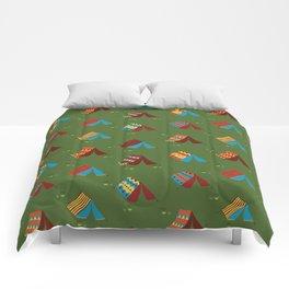 Boho Camping Tents Comforters