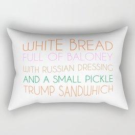 Trump Sandwhich Rectangular Pillow