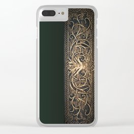 Ygdrassil the Norse World Tree Clear iPhone Case