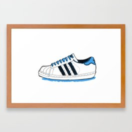 Adidas Originals Superstar Framed Art Print