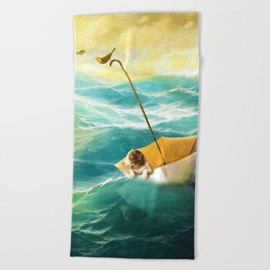 Drifting Away Beach Towel