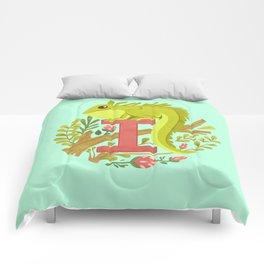 I is for Iguana Comforters