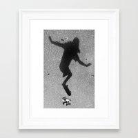 skate Framed Art Prints featuring Skate by Keepcalmdude