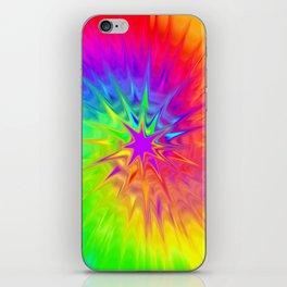 Tye Die Rainbow iPhone Skin