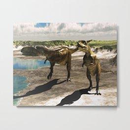 Dinosaur Abelisaurus 2 Metal Print
