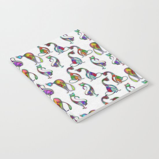 Cats - Colorful Characters Notebook