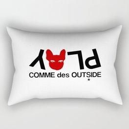 COMME des OUTSIDES Rectangular Pillow