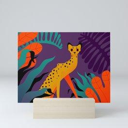 In the jungle Mini Art Print
