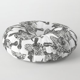 turtle party Floor Pillow