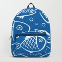Fish blue white by jsebouvi