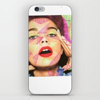 neon iPhone & iPod Skins featuring Neon  by Kate Allison