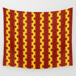 """""""A Gathering of Lilies"""" Remix - 1 (2-1) [D4465~12] (Addendum) Wall Tapestry"""