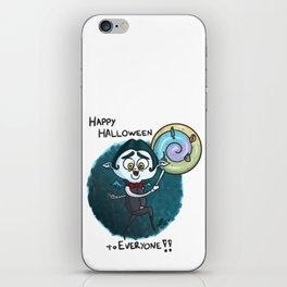 Vampy - Happy Halloween to Everyone!! iPhone Skin