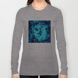 Cave Pool Painting Long Sleeve T-shirt