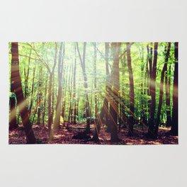 Forest lights Rug