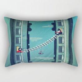 Farewell, my love! Rectangular Pillow