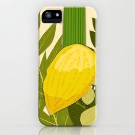Sukkot iPhone Case