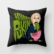 Vlad Pukin' Throw Pillow