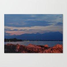 Lago di Garda Canvas Print