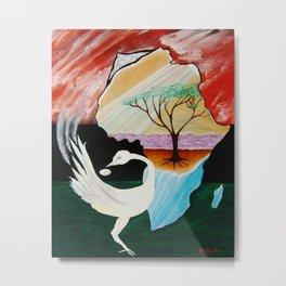 DREAM OF THE SANKOFA BIRD Metal Print
