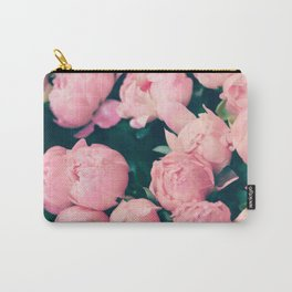 Paris Peonies Carry-All Pouch