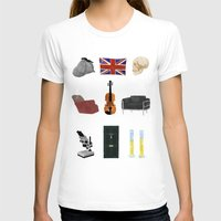 221b T-shirts featuring 221B Baker Street by CHOCOMINT GEEK