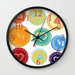 Dream Sea Sailor Beach Summer Love Wall Clock